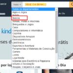 Amazon – Categorias