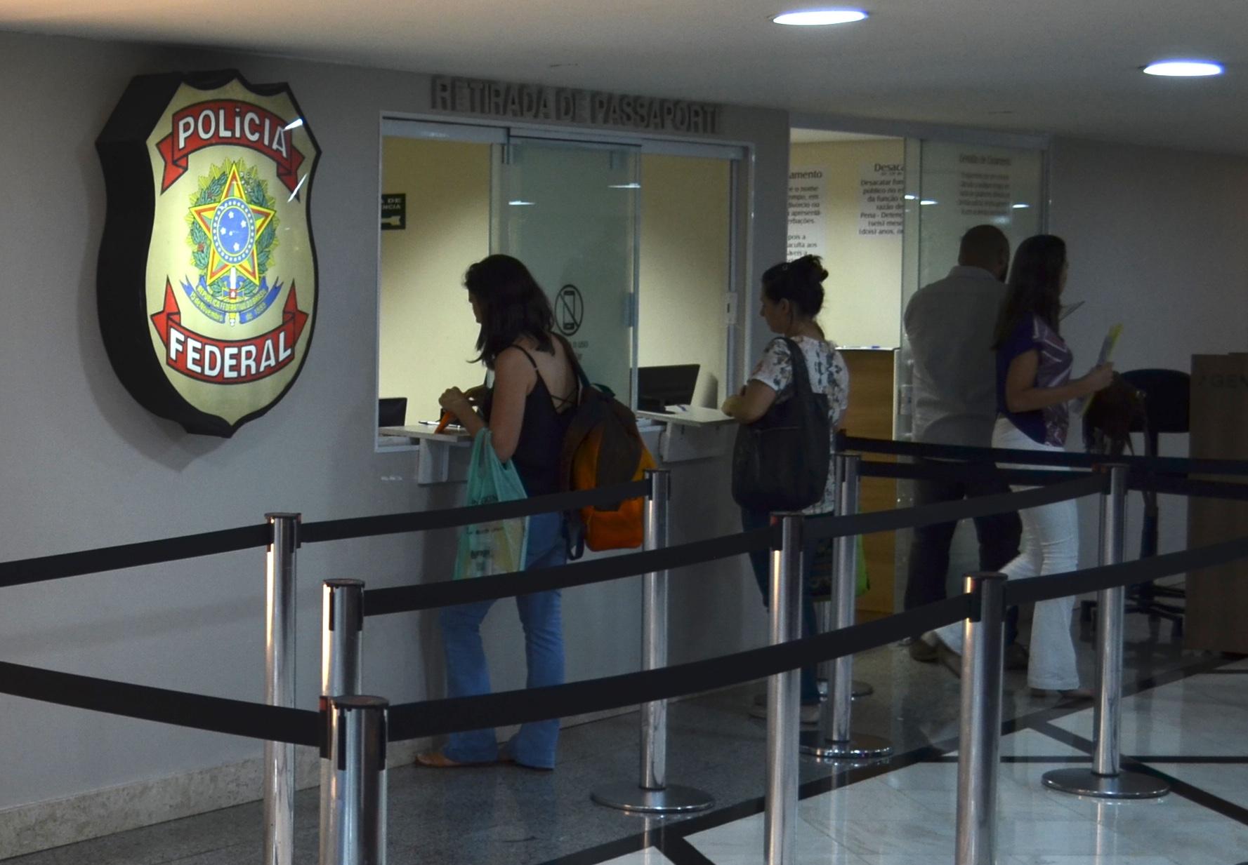 policia federal para retirar passaporte
