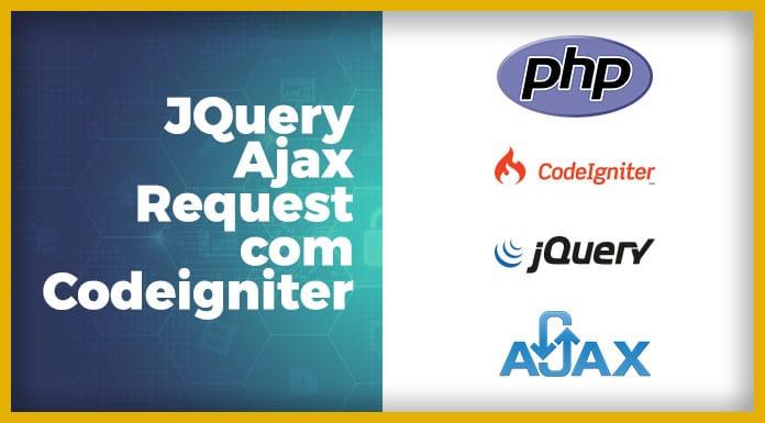 Solicitação jQuery Ajax no Codeigniter